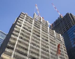 東京都内 ビル建築