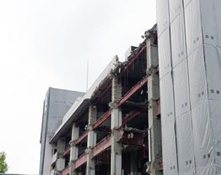 東京都内 ビル解体